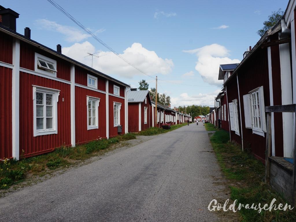Kirchendorf Gammelstad bei Lulea