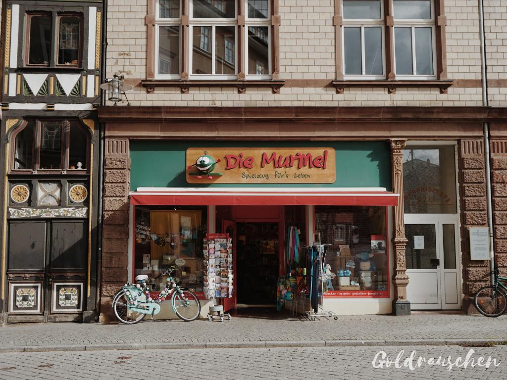 Die Murmel Eisenach von außen