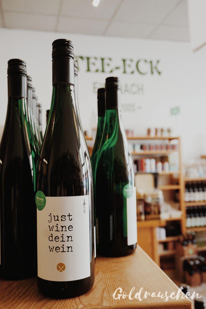 Wein im Tee-Eck Eisenach